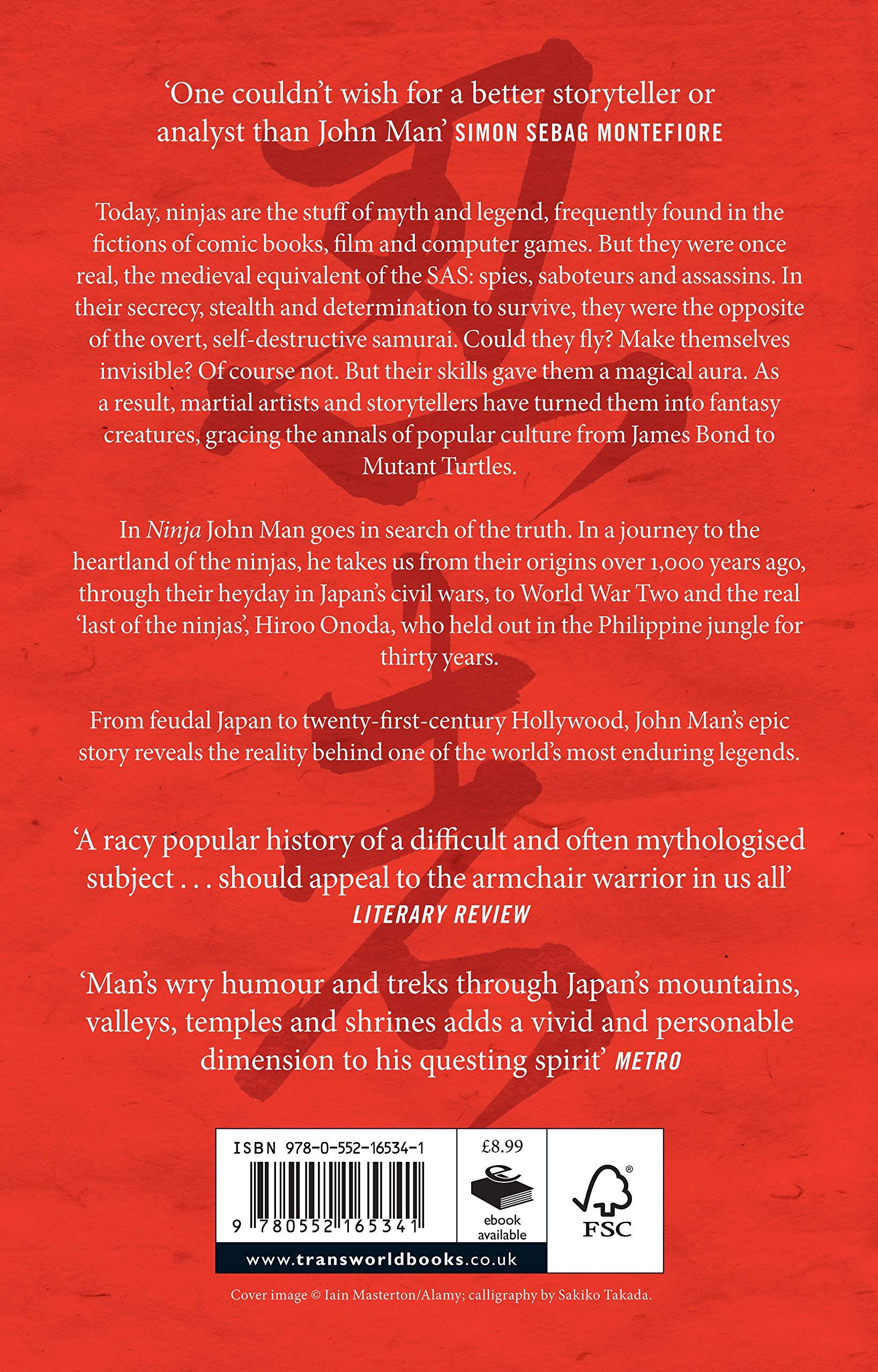 Ninja: Amazon.es: John Man: Libros en idiomas extranjeros