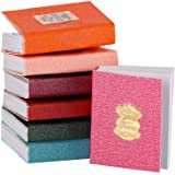 16 Pieces Miniatures Dollhouse Books Timeless Miniatures Books Mini Books Notebook Model Dollhouse Decoration Accessories for
