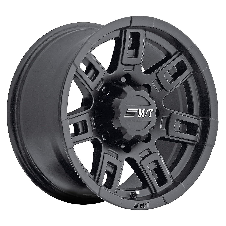 Mickey Thompson Sidebiter II Wheel with Satin Black Finish 0 millimeters offset 17x9//6x135mm