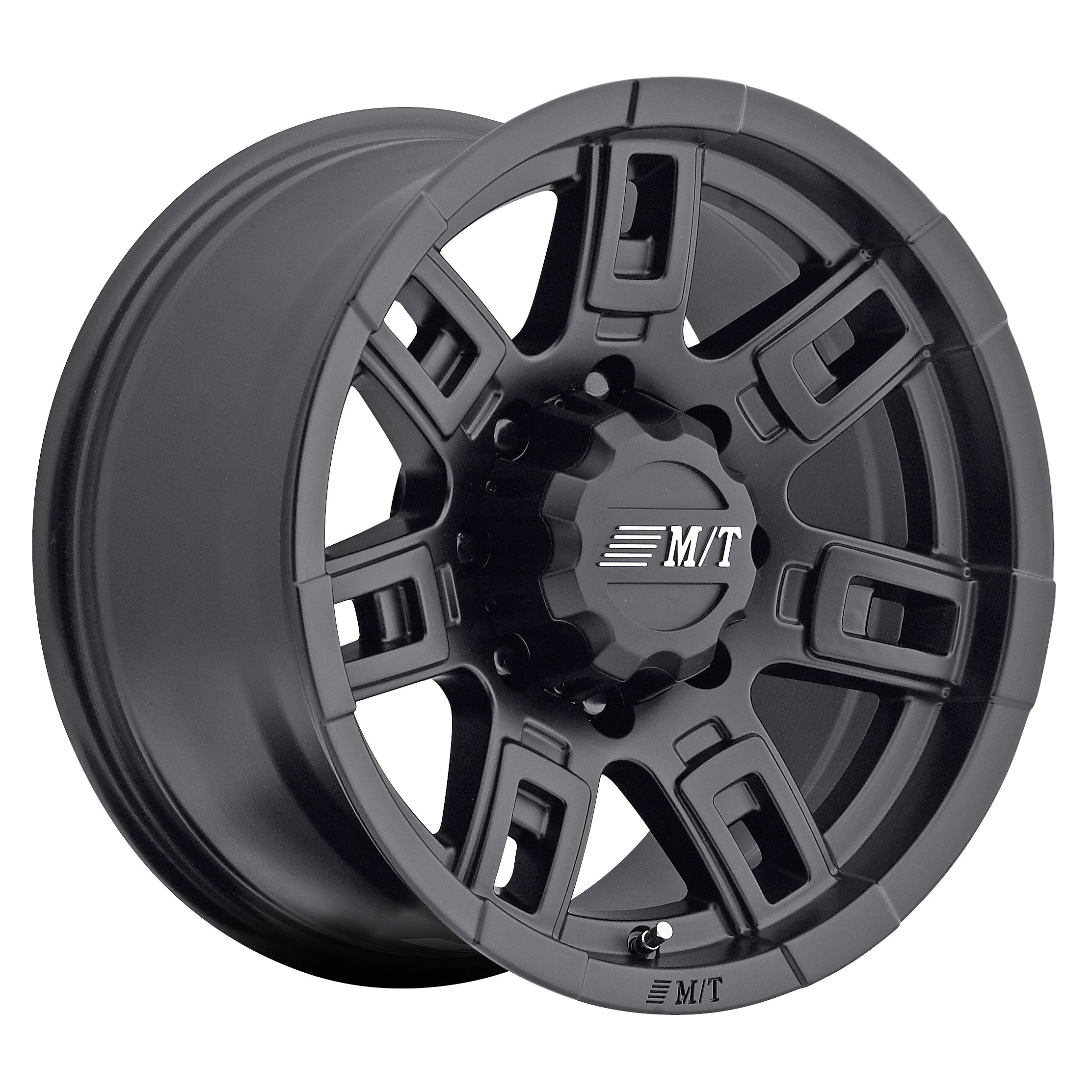 Mickey Thompson Sidebiter II Wheel with Satin Black Finish (17x9''/8x170mm) 0 millimeters offset