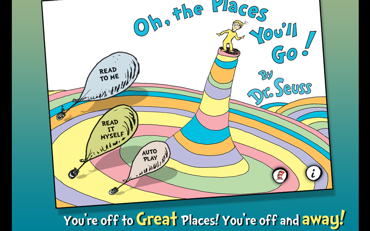a review of oh the places youll go a childrens book by dr seuss Find helpful customer reviews and review ratings for oh, the places you'll go by dr seuss at amazoncom read honest and unbiased product reviews from our users.