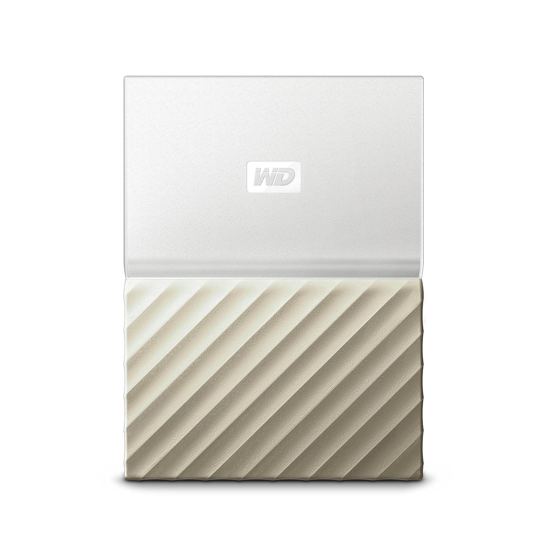 WD My Passport 2 TB, mobile externe Festplatte (6,4 cm (2,5 Zoll), mit Kennwortschutz, Standard Oberflä che schwarz, WDBYNN0020BBK-WESN Western Digital WDBS4B0020BBK-WESN