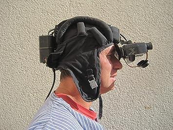 Nva infrarot nachtsichtgerät panzerhaube nightvision helm jagd