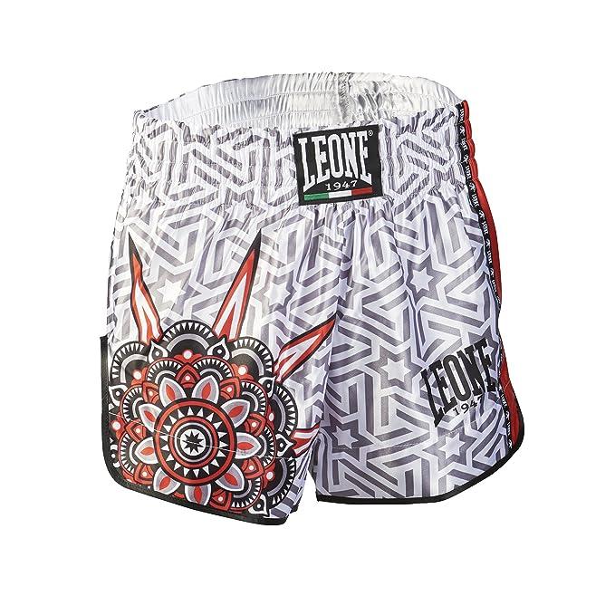 Leone 1947 AB761 Pantalones Cortos de Kick-Thai Unisex Adulto