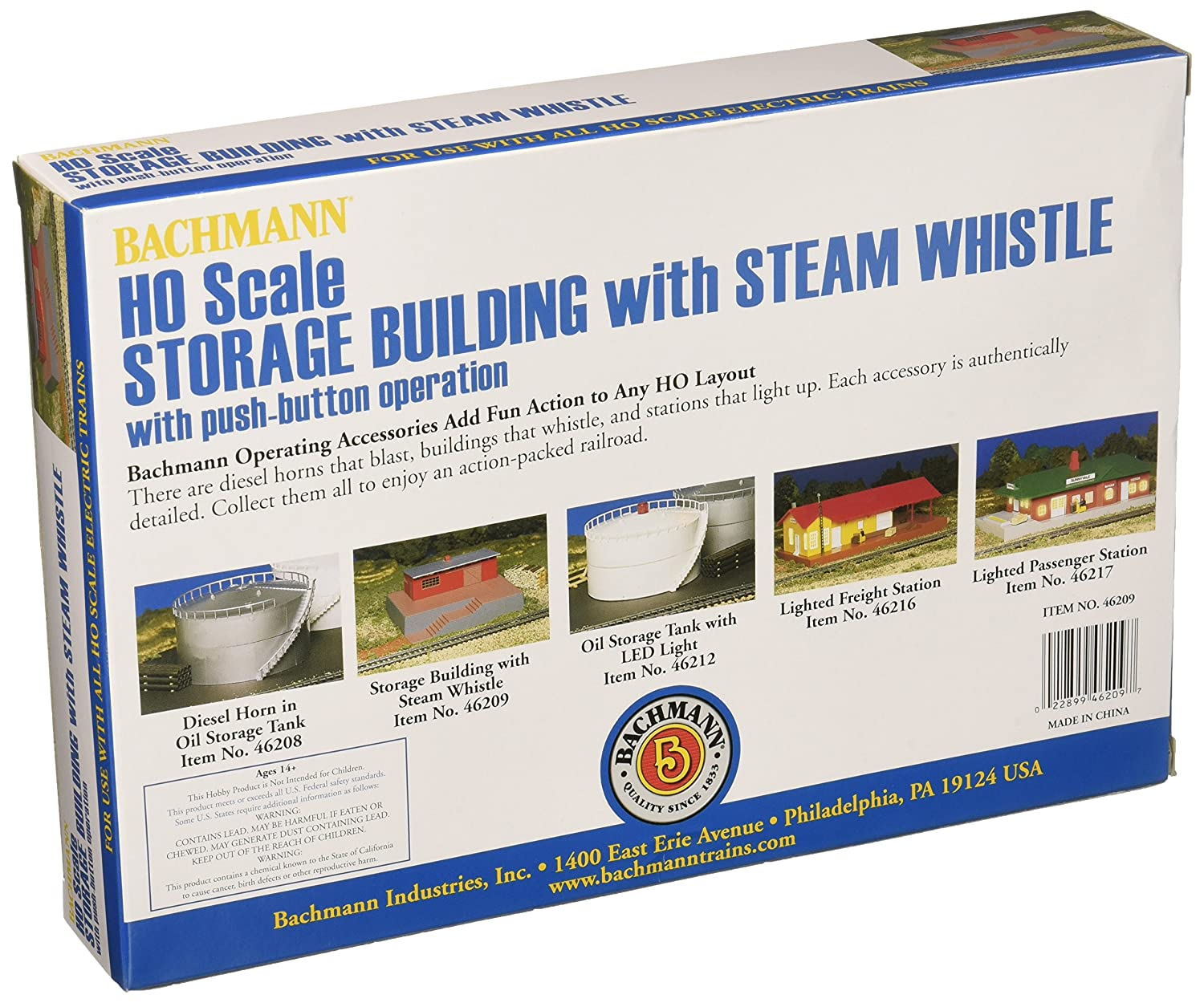 amazon com bachmann trains storage building with steam whistle