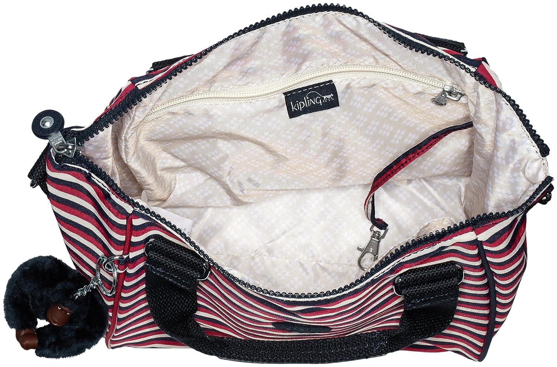 Kipling Amiel dam väska Flera färger (Sugar Stripes)