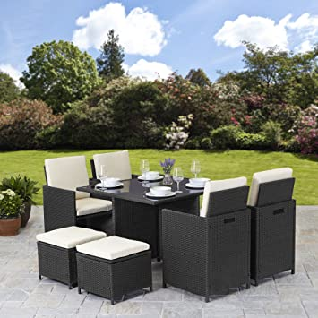 Rattan Cube Garden Furniture Set 8 seater outdoor wicker 9pcs (Black on wood garden furniture, plastic garden furniture, conservatory furniture, granite garden furniture, garden furniture sets, iron garden furniture, garden benches, wooden garden furniture, garden furniture covers, garden tables, garden cushions, bistro sets, wicker garden furniture, garden lighting, garden tools, steel garden furniture, kmart patio furniture, metal garden furniture, recycled garden furniture, stone garden furniture, hardwood garden furniture, clayton garden furniture, ikea garden furniture, outdoor furniture, garden accessories, garden furniture accessories, willow garden furniture, cement garden furniture, cast aluminium garden furniture, ashbury furniture, english garden furniture, round daybed patio furniture, garden furniture cushions, patio furniture, teak garden furniture, garden chairs,