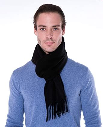 64d3655f7c381 100% Cashmere Scarf - Premium Quality - Classic Cozy Soft and Stylish for  Men and