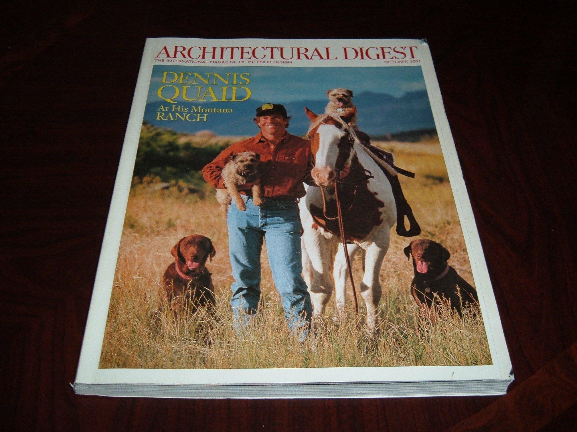 Architectural Digest, the International Magazine of Interior Design (October 2003) ebook