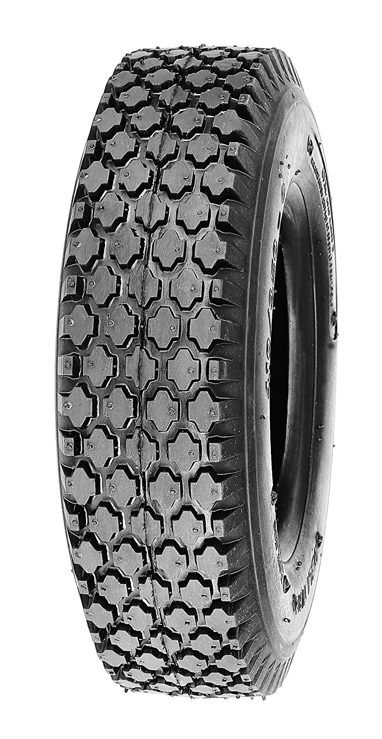 Deli Tire S-356, Stud Tread, 4-Ply, Tubeless, Lawn and Garden Tire (4.10/3.50-5)