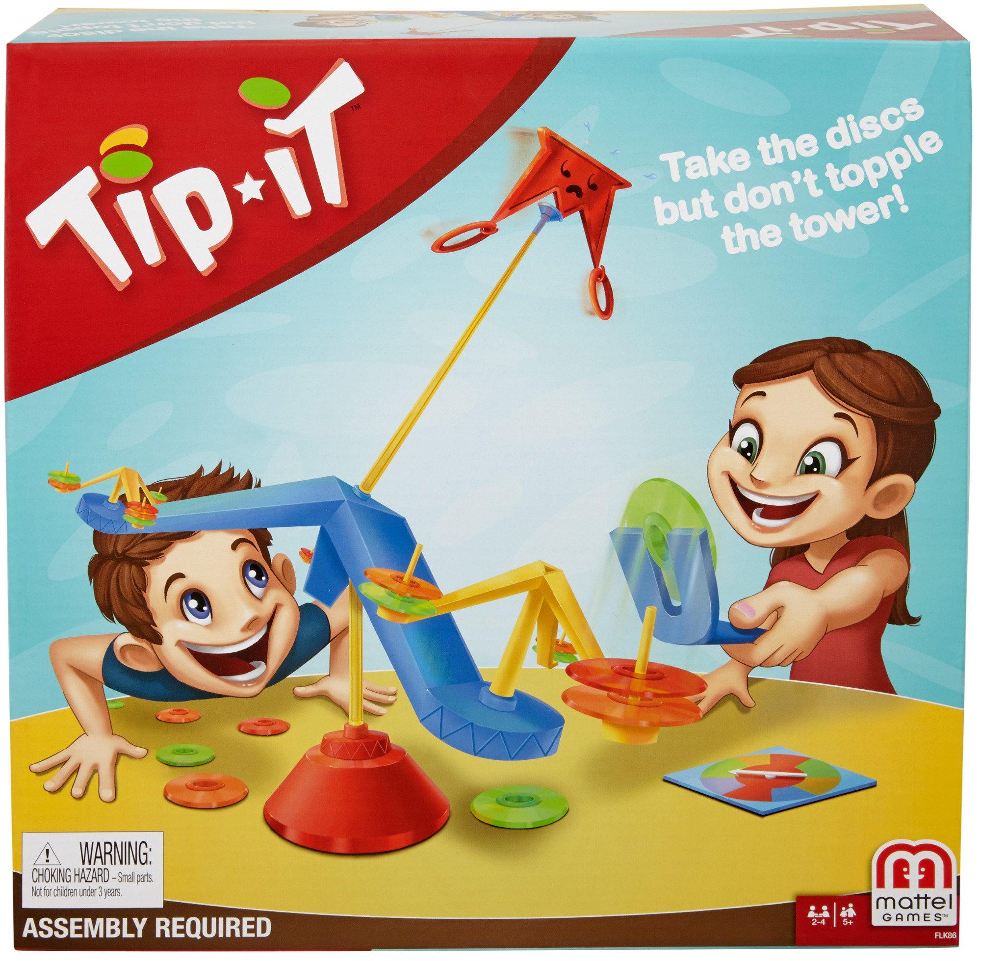 Mattel Games Tip It Game
