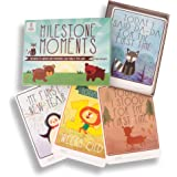 Baby Milestone Cards New Baby Shower Gift 38 Cards Including Christmas and New Year