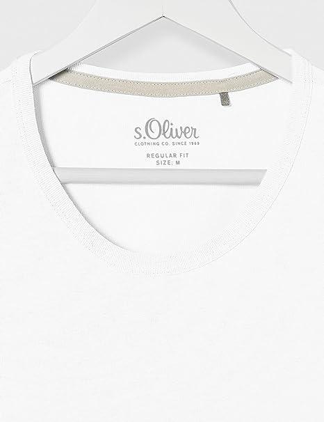 s.Oliver Bluse /Ärmellos Camicia da Donna