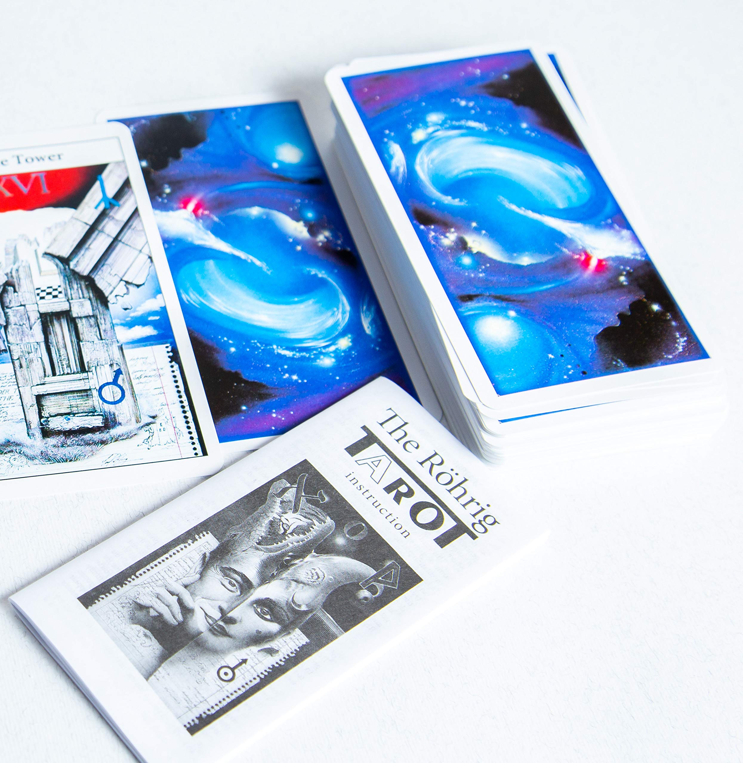New 78 The Rohrig Tarot Tarot Cards Deck (Replica) Valentines Gift by Unknown (Image #6)