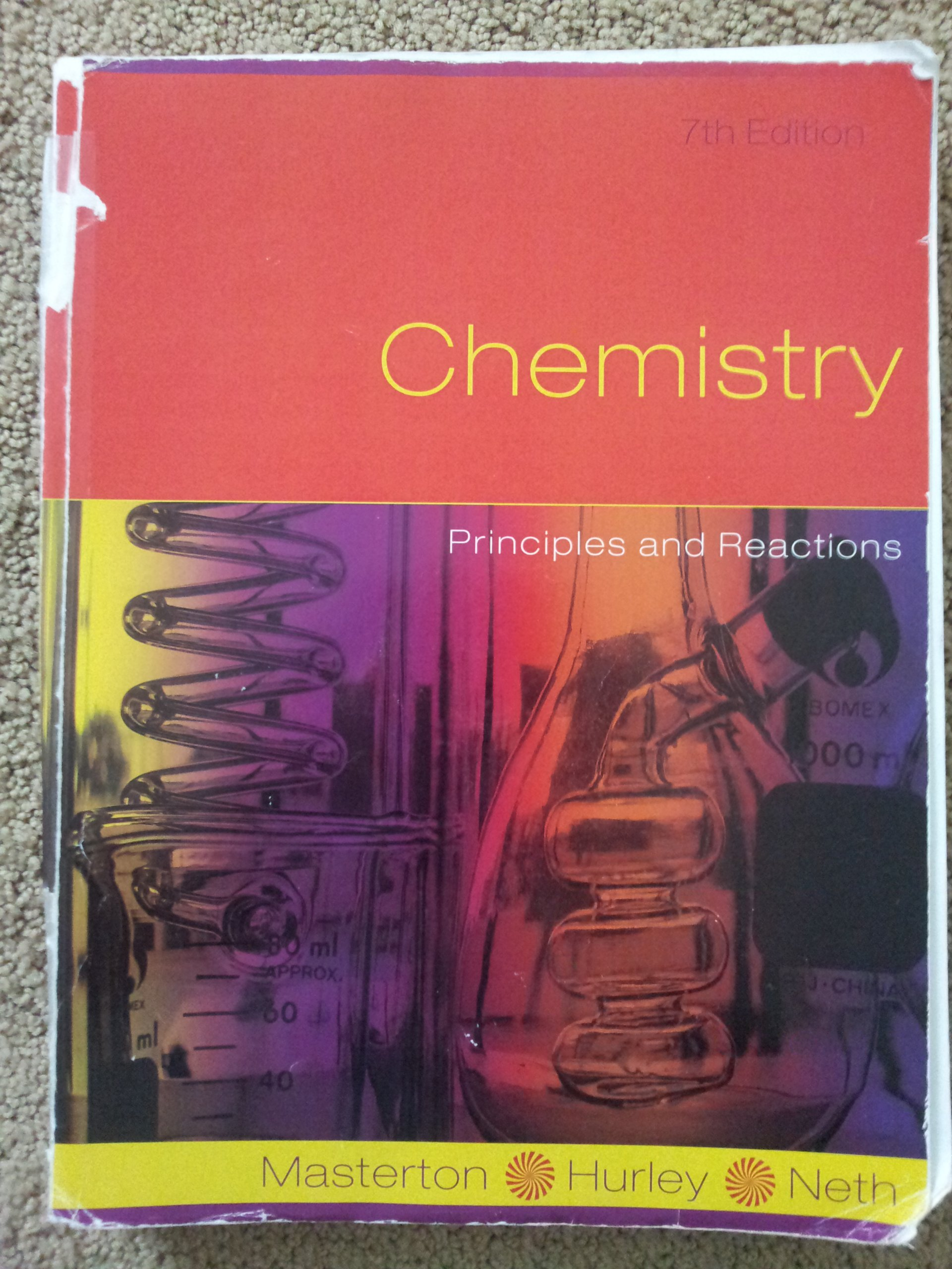 Chemistry (Principles and Reactions): Hurley, Neth Masterton:  9781133228028: Amazon.com: Books