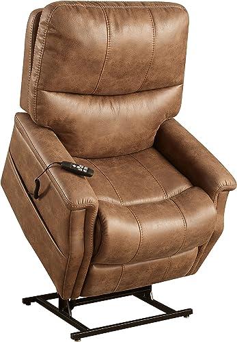 Pulaski Faux Leather Dual Motor Lift Chair Review