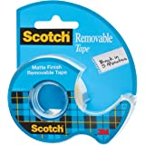 Scotch Removable Tape, 0.75 x 650 Inches (224)