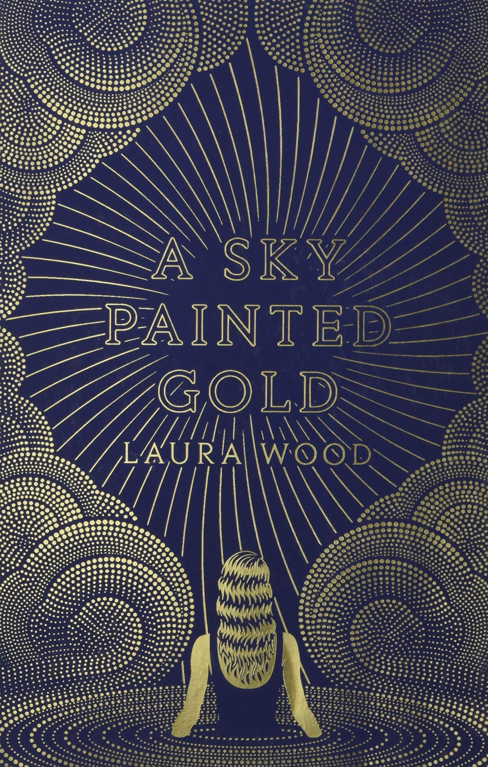 Image result for a sky painted gold laura wood