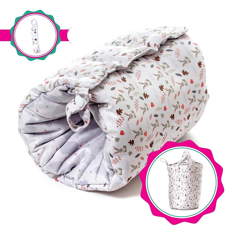 Travel Friendly Nursing Pillow, Slip On Arm Breastfeeding Pillow for Newborns & Older Babies | Soft, Safe & Comfortable | Reversible, Multi Use Nursing Cushion | Bonus Carry Bag & Nursing Strap Fellow Pillow FP-PERENT