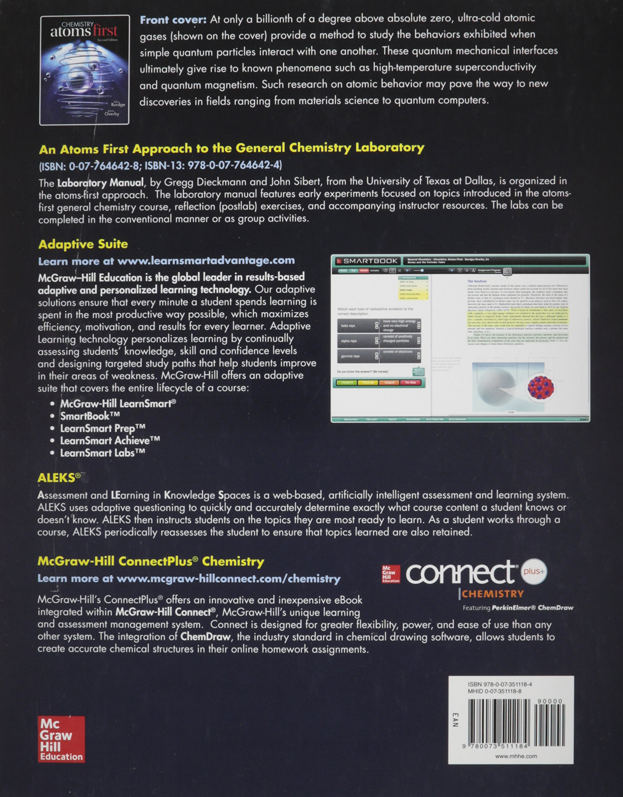 Package chemistry atoms first with connect 2 semester access card package chemistry atoms first with connect 2 semester access card julia burdge 9781259675317 chemistry amazon canada fandeluxe Choice Image