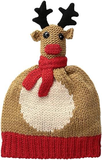 Amazon Collection Xiix Womens Mr Reindeer Hat Travertine