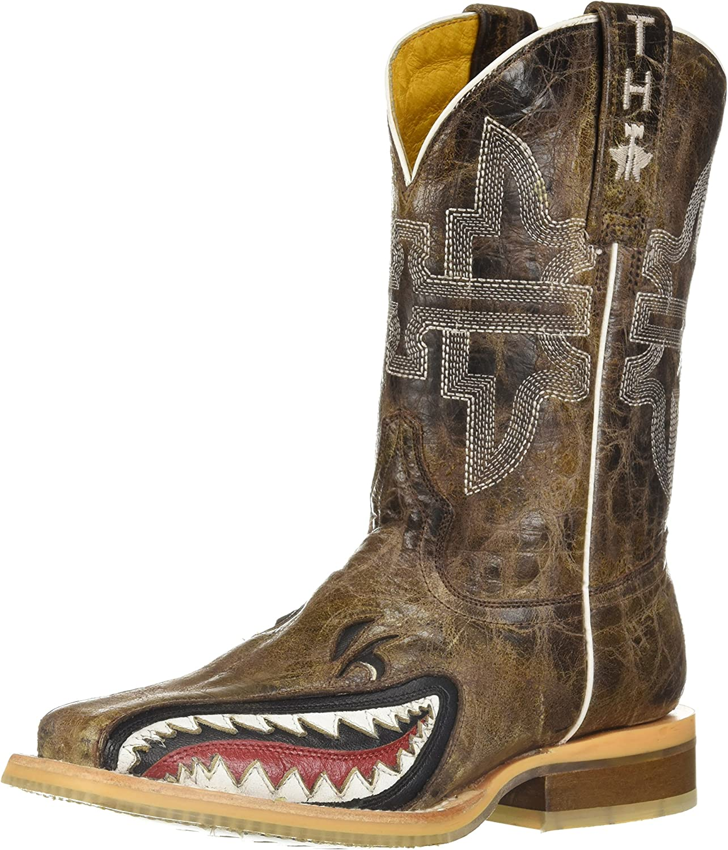 Tin Haul Shoes Kids' Sharky Western Boot