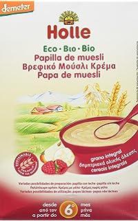 Holle Papilla de Crema Arroz (+ 4 meses) - 250 gr: Amazon.es: Bebé
