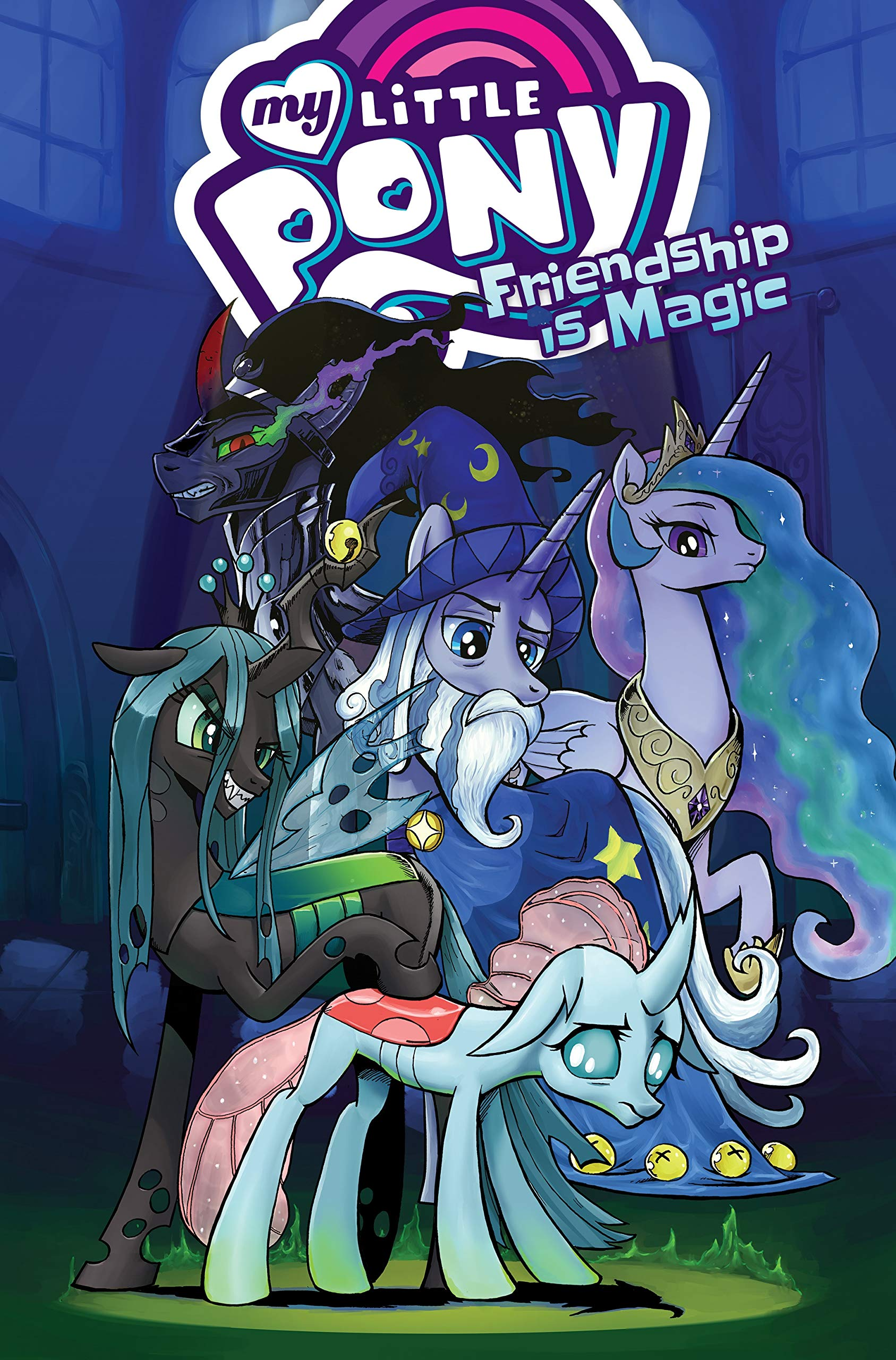 Friendship Is Magic Vol.9-Jeremy Whitley My Little Pony