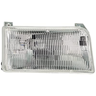 TYC 20-1934-00-9 Compatible with Ford CAPA Certified Replacement Right Head Lamp: Automotive