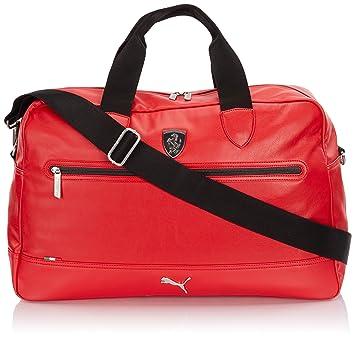 puma ferrari ls handbag (rosso corsa)