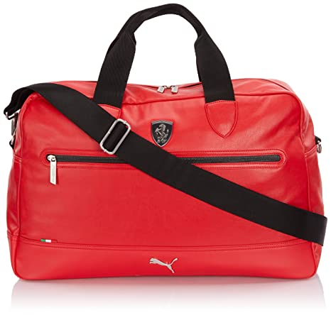 fcdefaa6d5b9 PUMA Ferrari LS Messenger Travel Bag Duffel Bags Red 07224802  Amazon.ca   Luggage   Bags