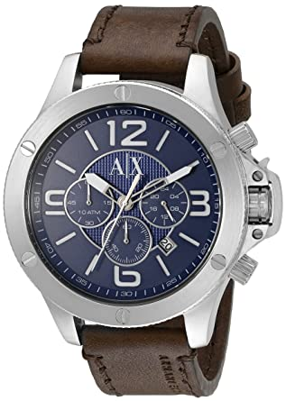 Buy Armani Exchange Wellworn Analog Blue Dial Men\'s Watch - AX1505 ...