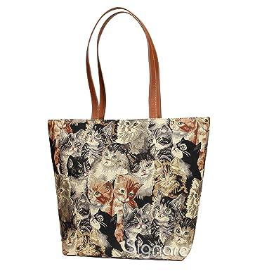 52aabd99cd Signare Labrador Dog Print Women s Tan Tapestry Shoulder Tote Handbag