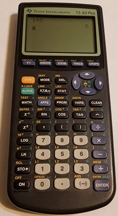 Amazon Texas Instruments Ti 83 Plus Graphing Calculatorpackaging May Vary Electronics