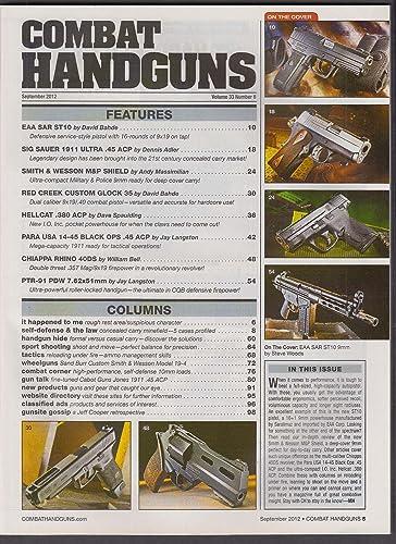 COMBAT HANDGUNS SAR ST10 S&W Shield Sig Ultra 1911 Delta