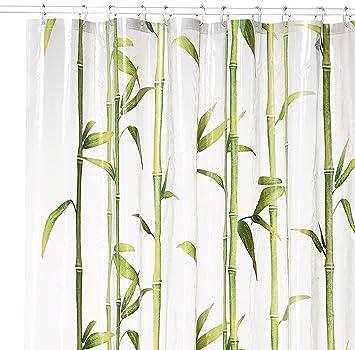 Kleine Wolke QuotBambuquot Shower Curtain Mai Green 180 X 200 Cm