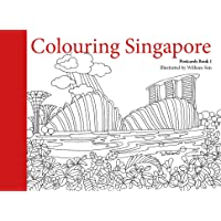 Colouring Singapore Postcard: Book 1