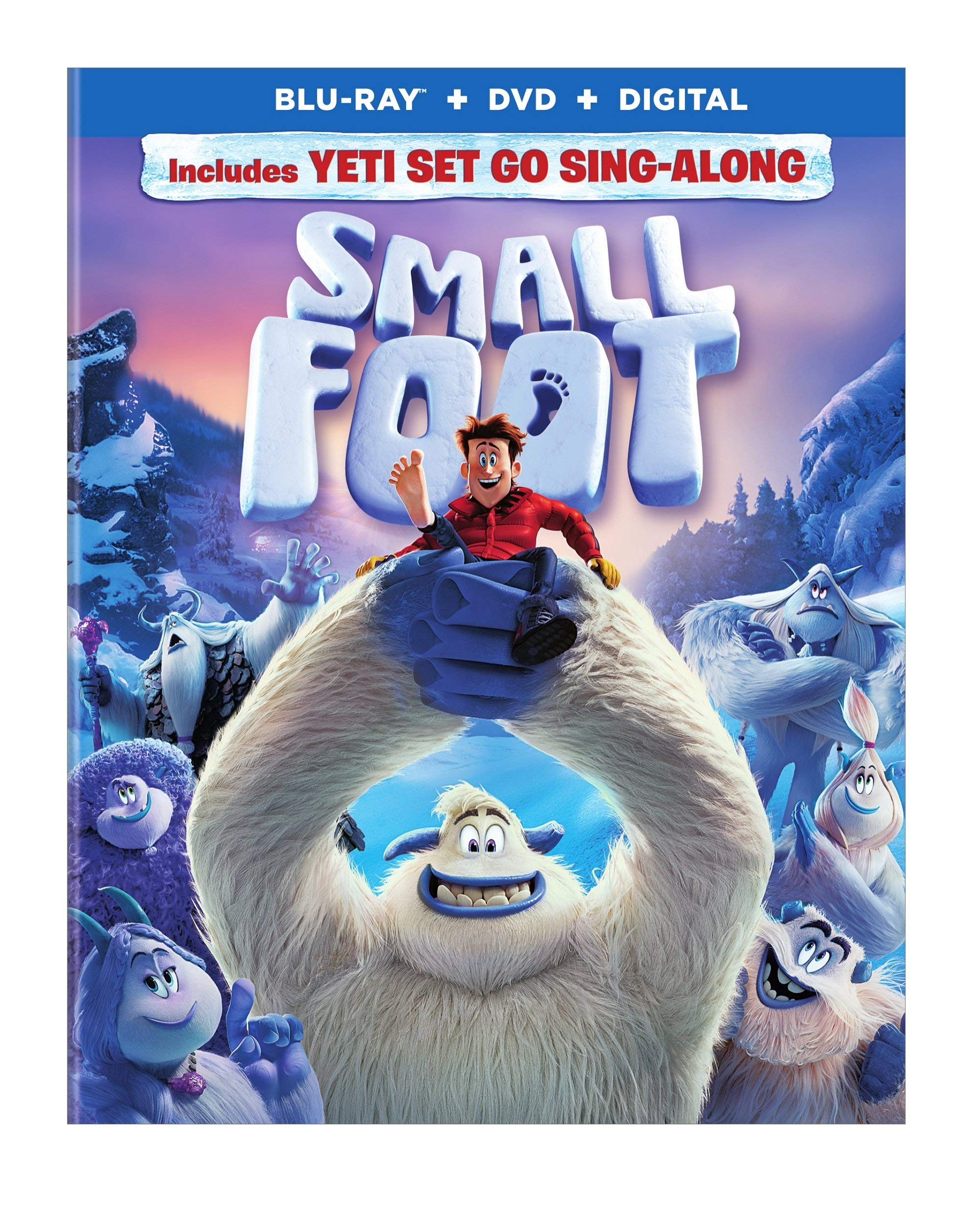 Blu-ray : Smallfoot (With DVD, Full Frame, Ultraviolet Digital Copy, Dolby, AC-3)