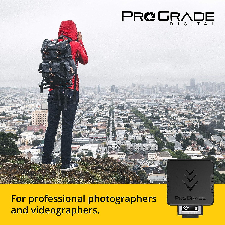 Photographers /& Content Creators CFexpress Single-Slot Memory Card Reader by ProGrade Digital USB 3.2 Gen 2 for Professional Filmmakers