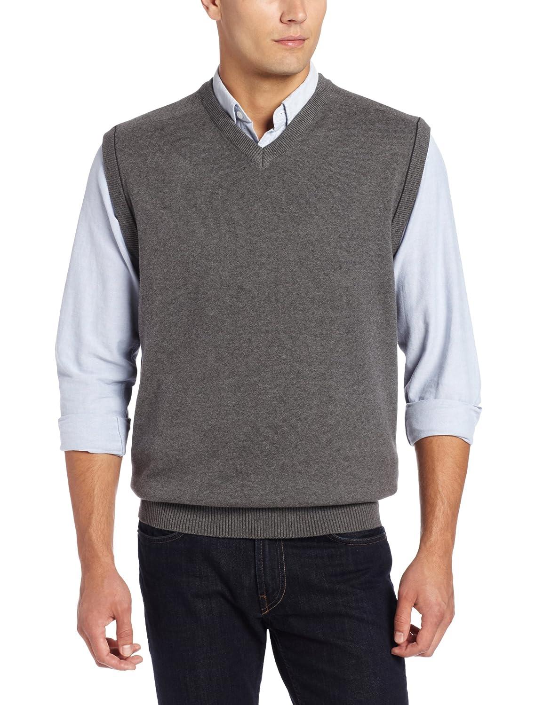 Cutter & Buck Men's Broadview Sweater Vest at Amazon Men's ...