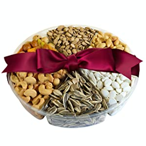 Simple Nuts Holiday Gift Baskets | Assorted Nuts Care Package, Ultra Fresh Nuts, Never Stale | Gourmet Food Snack Gift for Holidays, Christmas, Easter, New Year's & More | Fast, Secure Shipping