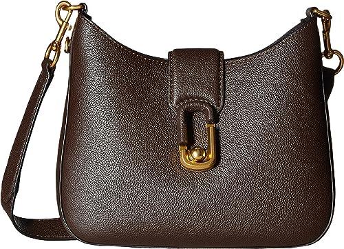 0aa5757572a9 Marc Jacobs Women s Interlock Small Hobo Mahogany Handbag  Amazon.ca  Shoes    Handbags