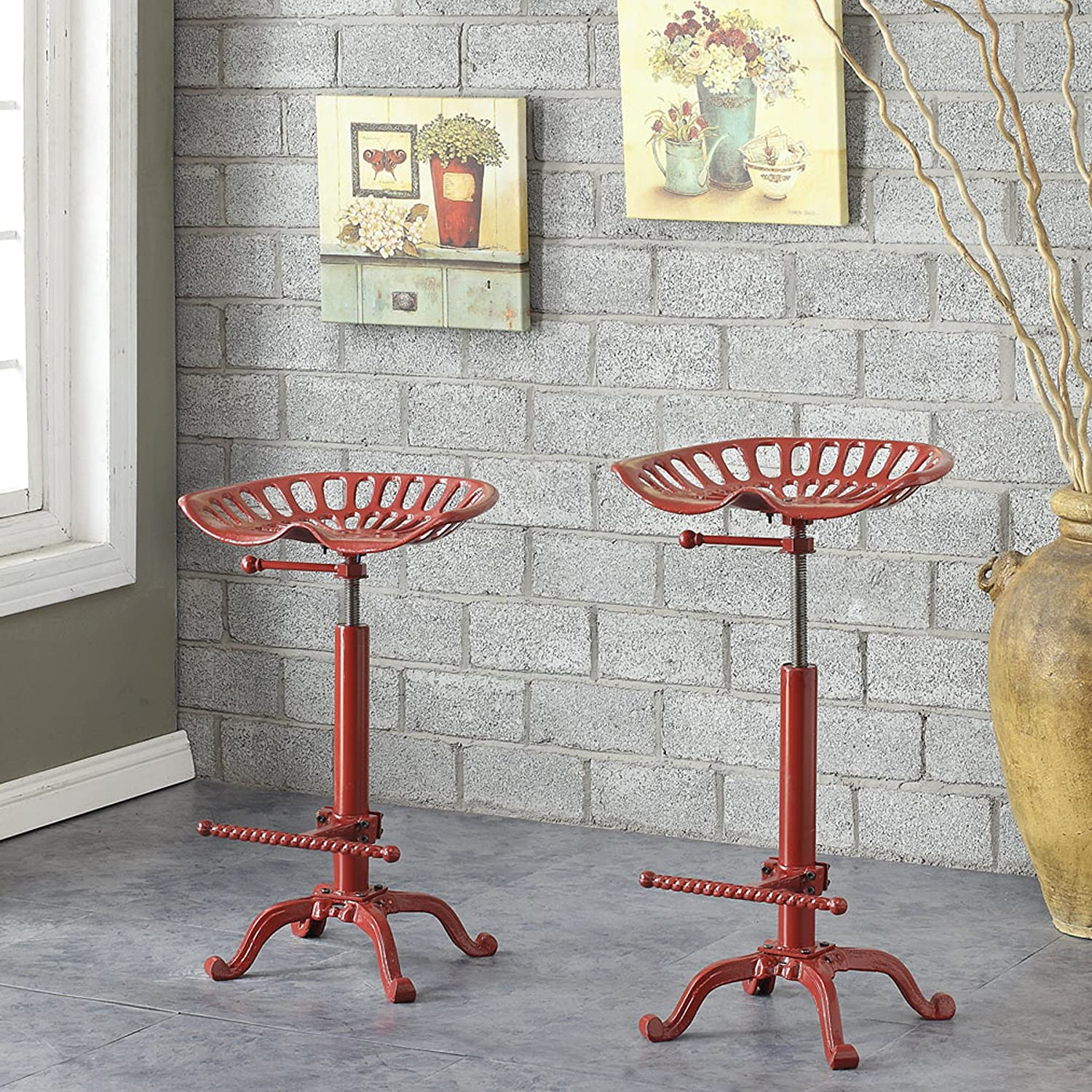 Industrial Counter Height Stools Part - 42: Amazon.com
