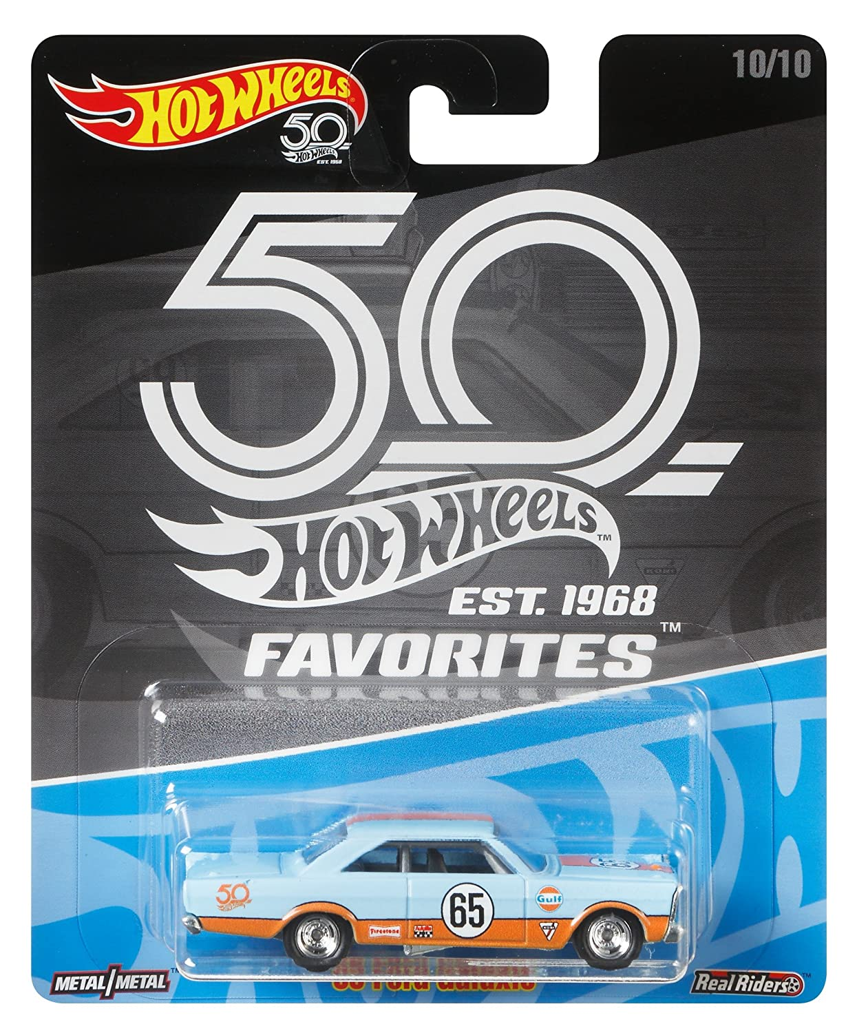 Hot Wheels 50th Anniversary Favs 65 Galaxie Mattel FLF45
