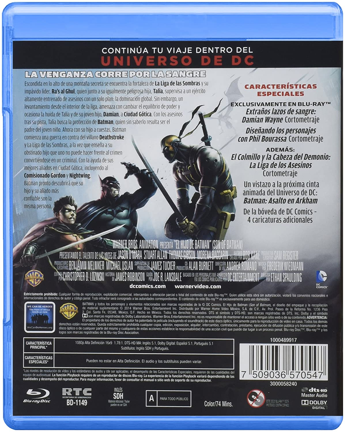 Amazon.com: Son of Batman - El Hijo de Batman en ESPAÑOL ...