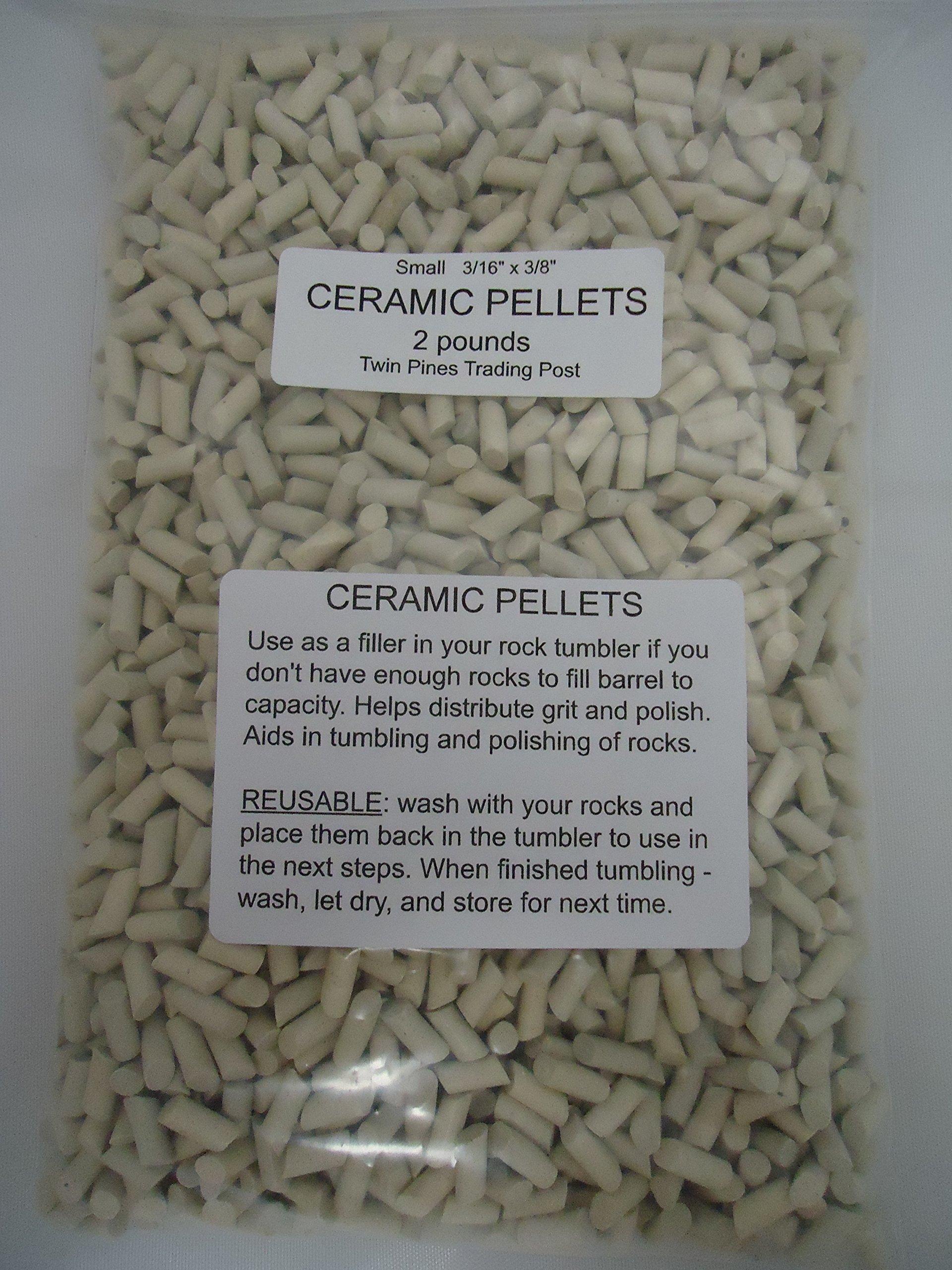 Ceramic Tumbling Media Small - 2 Pounds