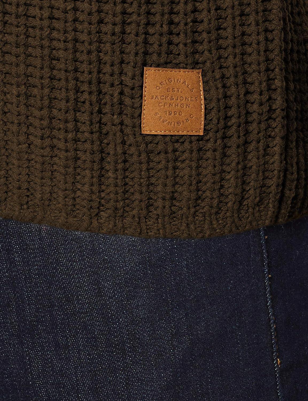 JACK /& JONES Jorjames Knit Crew Neck su/éter para Hombre