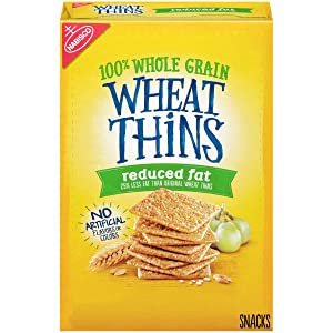 Wheat Thins Reduced Fat Whole Grain Wheat Crackers, 8.5 oz