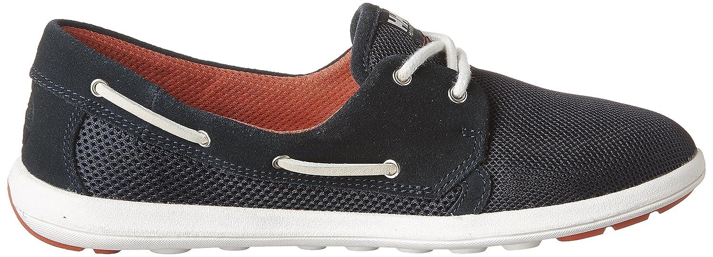 Navy//Cayenne//Off White Helly Hansen Womens W Lillesand Fashion Sneaker 6