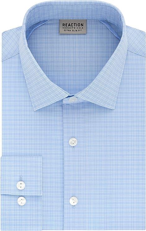 Kenneth Cole REACTION - Camisa de vestir para hombre, ajuste ...